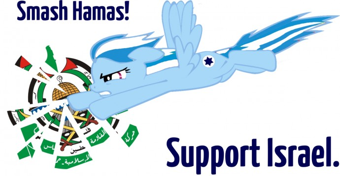 Smash Hamas! Support Israel.