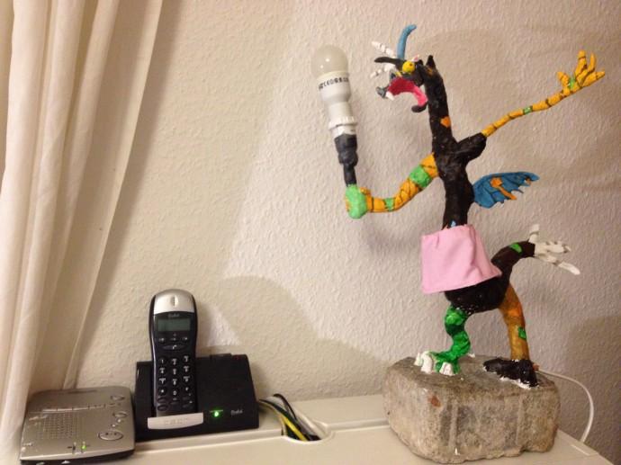 Finally ready: discord lamp.