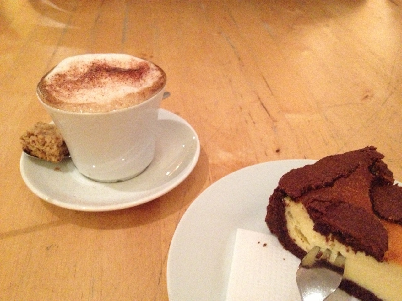 Kaffee, Kuchen (v.l.n.r.) …So macht Bildung Spaß.