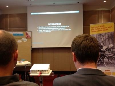 …auf dem Seminar-iPad gefunden: Bild, dass Teilnehmende_r beim Workshop gemacht hat.