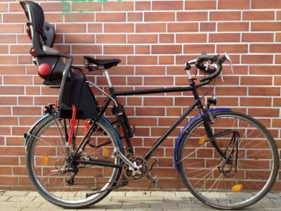 My bicycle (and a brick wall)